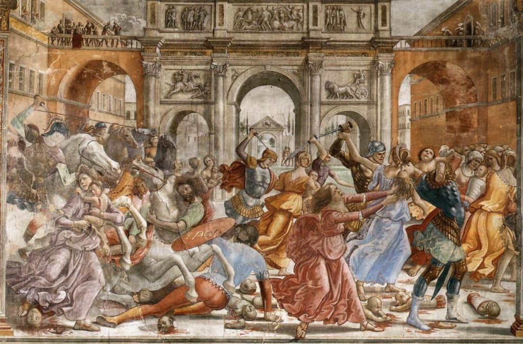 Гирландайо. 1480-е.